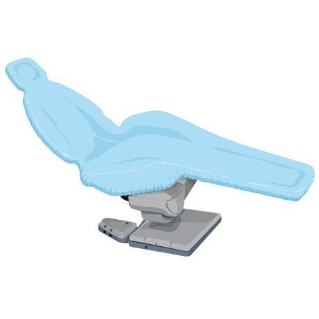 Housse pour fauteuil Bleue
